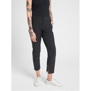 NWT Athleta Stellar Crop Trouser Pant Solid Black
